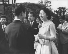 Empress Michiko in one of a special gathering.