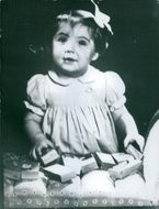 Photo of baby Princess Margriet.