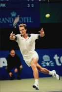 Stefan Edberg qualifies for the Stockholm Open.