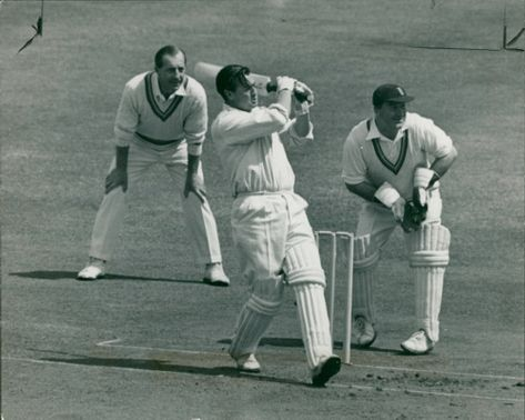 Keith Miller with denis compton.