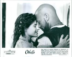 "Film ""Othello"" which stars Irene Jacob and Laurence Fishburne."