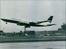 British Airways Boeing 707.