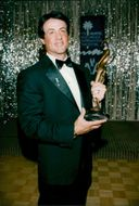 Sylvester Stallone receives the Pocket Palm Springs movie award