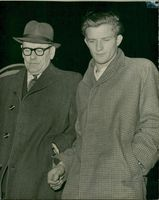 Victor Terry with Police Officer.