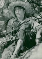 """Mickey Rooney in the movie """"Huckleberry Finn"""" - 25 July 1939"""