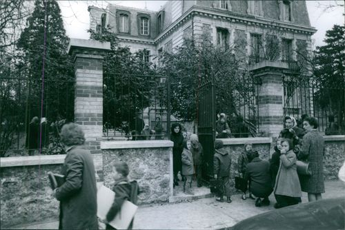 The school where Emmanuel Maillart was kidnapped.