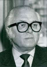 Sir Richard Attenborough, a British film director. 1986.