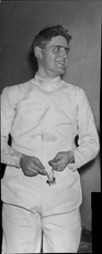 Portrait image of the fighter Hans Drakenberg taken in an unknown context.