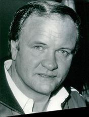 Football manager, Ron Atkinson. 1985.