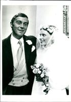 Michael Jayston and his wife.