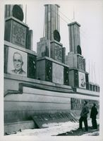 Stalin's Picture Disappears From Heart of Berlin November 3, 1946