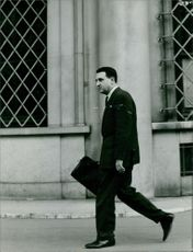 A man walking.