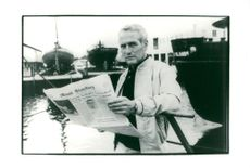 """Actor Paul Newman in the movie """"Without evil intentions"""""""