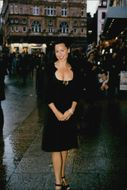 "Actress Minnie Driver at the London Premiere of the movie ""An Ideal Real Man"""