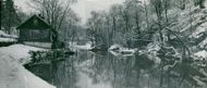 Winter picture from Nacka mill pond