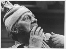 """BBC Special """"A Christmas Carol"""" Scrooge (Steven Manton) sees the Ghost of Jacob Harley.  - Nov 1962"""