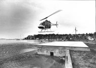 Police Helicopter Premiere at Sandhamn