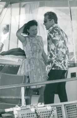 Princess Margaret with her husband Antony Armstrong-Jones.