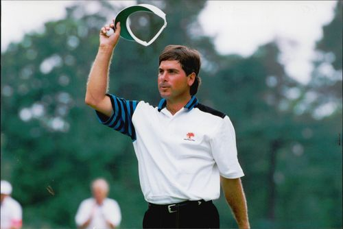 American golfer Fred Couples.