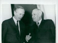 British Foreign Minister Lord Alec Douglas-Home, along with Portugal's Prime Minister Salazar