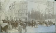 Demonstration tag on guard through Pera. In front of the powers of the powers of the powers of the great powers and the Rumanians, they are raped by the fighting fights of Bulgaria, Serbia, Greece, and Montenegro. 1912