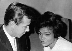 Eartha Kitt with husband William McDonald.