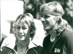 Björn Borg and his fiance Mariana Simionescu