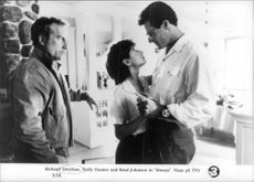 "Richard Dreyfuss, Holly Hunter and Brad Johnson in ""Always"""