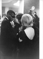 Ray Charles Robinson with people.