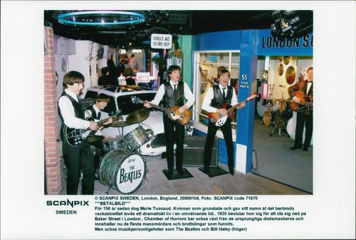 Wax Cabinet on The Beatles
