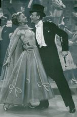 """Ginger Rogers and Fred Astaire in """"We Dance Again!"""""""