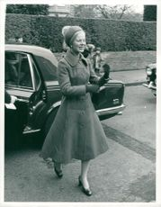 Katharine, Duchess of Kent in Norfolk