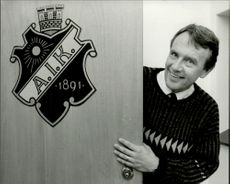 AIK's new coach, Nisse Andersson.