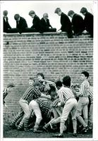 Eton College Wall Game.
