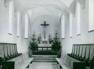 The chapel of the Sigtuna Foundation chapel