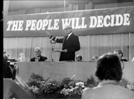 Jim Callaghan, speaking at the Labor Party's conference.