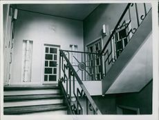 A photo of a staircase.