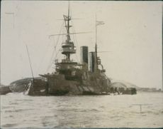 Russian warship during the Russo-Japanese War 1904-1905