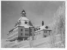 Hösbjör Kurstedts hotel, Swedish Norway Aid - 4 May 1944