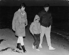 "Edward Moore ""Ted"" Kennedy walking."