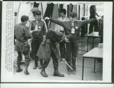 Hungarian participants in security control - OS in Montreal 1976