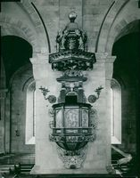 Pulpit in Lund Cathedral