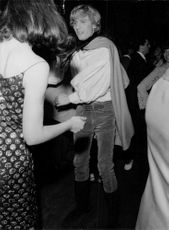 Men and women dancing in a New York nightclub.  - May 1966
