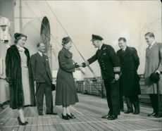 Princess Royal with Capt. Keay