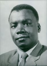 Portrait of J.M. Lusinde.  - 1968