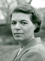 Portrait image of author Ingrid Arvidsson taken in an unknown context.