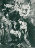Sir Peter Paul Rubens: the nativity.