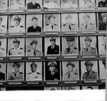Various portrait of officers.