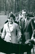 Princess Margriet of the Netherlands together with her husband Pieter van Vollenhoven.