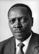 James Samuel Gichuru in a portrait.